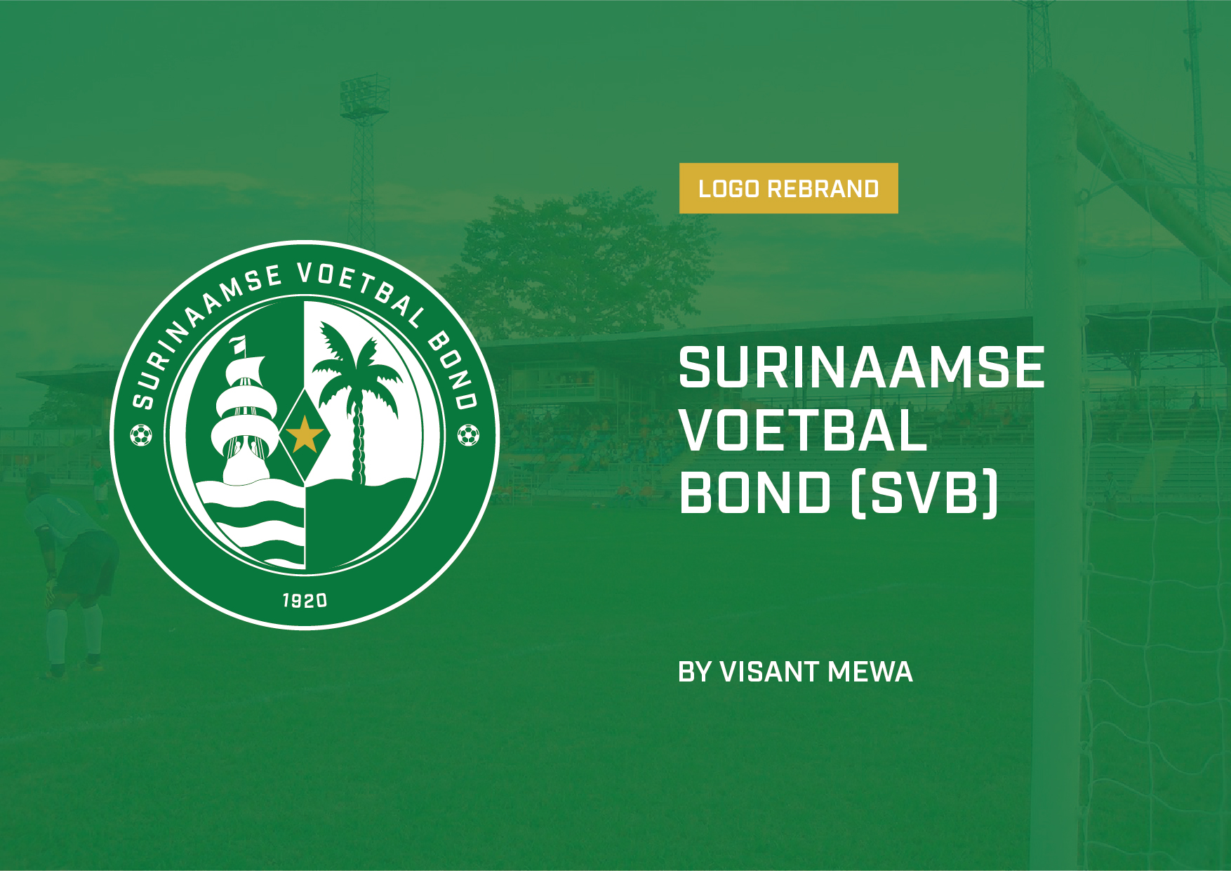 Surinaamse Voetbal Bond Logo Design