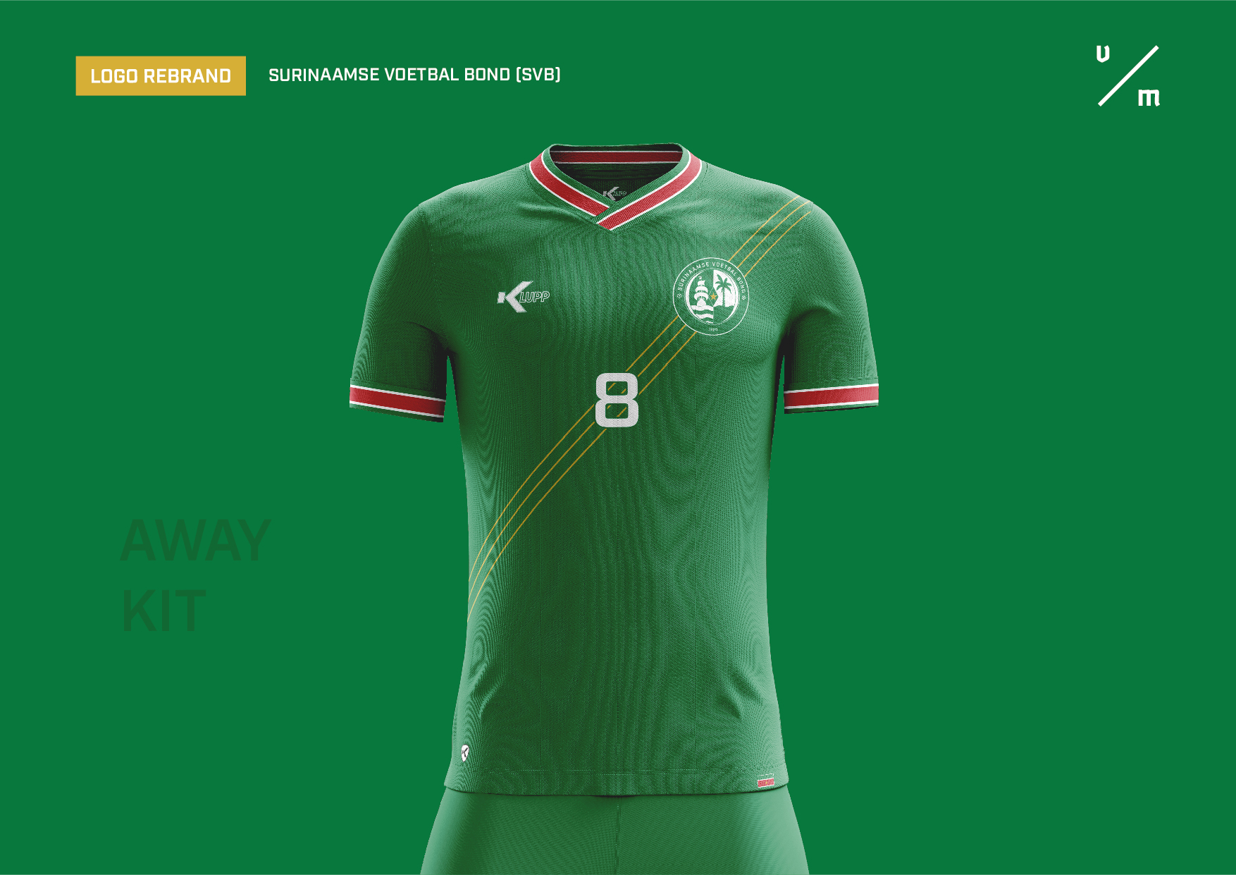Surinaamse Voetbal Bond Away Kit Concept