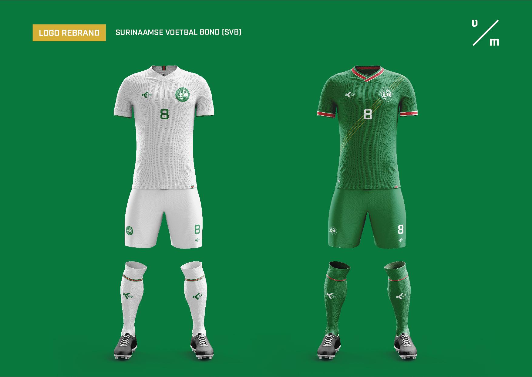 Surinaamse Voetbal Bond Soccer Kit Concept